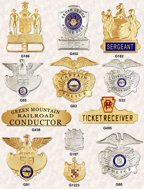 Police Badges GA-REL Cap Badges page 2 GAREL