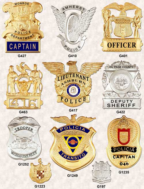 Police Badges GA-REL Hat Badges page 3 GAREL